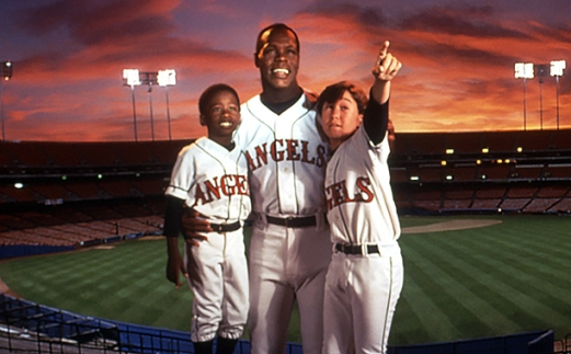 ANGELS IN THE OUTFIELD, Milton Davis Jr., Danny Glover, Joseph Gordon-Levitt, 1994, (c)Buena Vista P